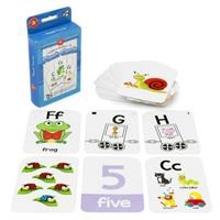 Early Learning Flash Cards Set of 3 - alphabet and numbers 1-10