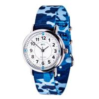 EasyRead Time Teacher 12/24 Hour Camo Watch (White Face)