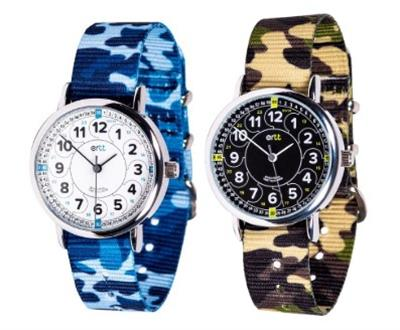 EasyRead Time Teacher 12/24 Hour Camo Watch