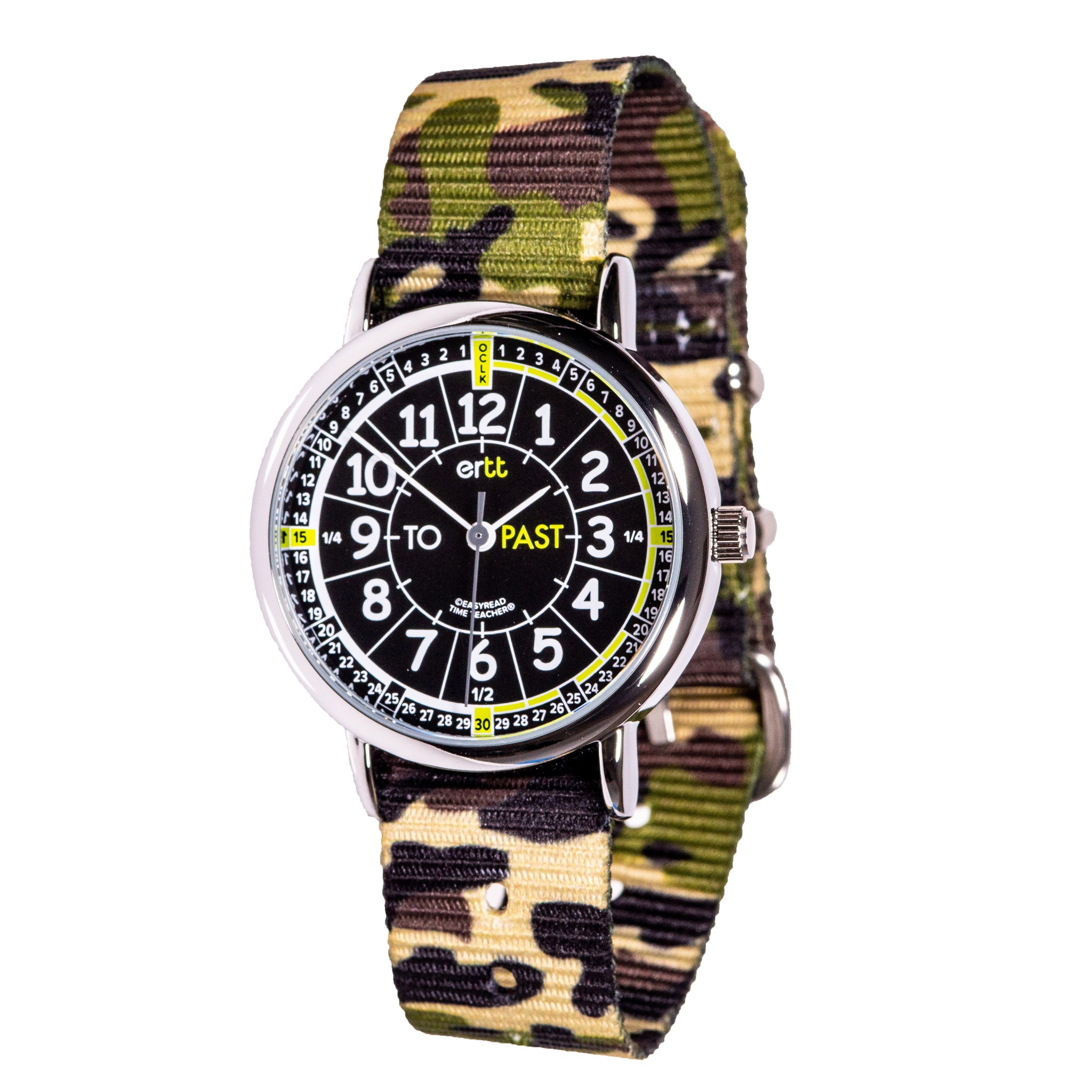 EasyRead Time Teacher Past/To Camo Watch
