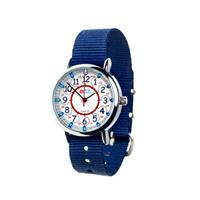 EasyRead Waterproof Time Teacher 12/24 Hour Watch - Navy strap