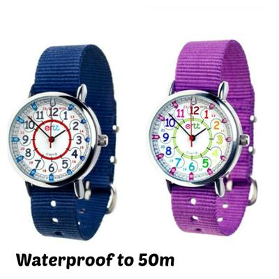 EasyRead Waterproof Time Teacher 12/24 Hour Watch