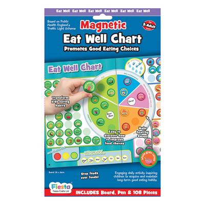 Eat Well Magnetic Chart