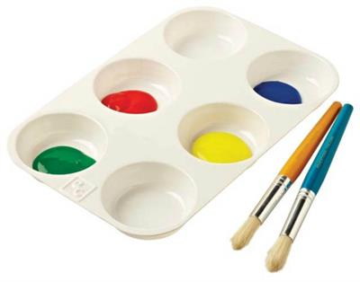 EC - 6-well Paint Palette