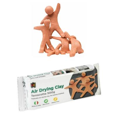 EC Air Drying Terracotta Modelling Clay 500g