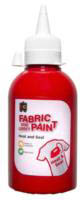 EC - Fabric and Craft Paint 250ml - Heat and Seal - Red