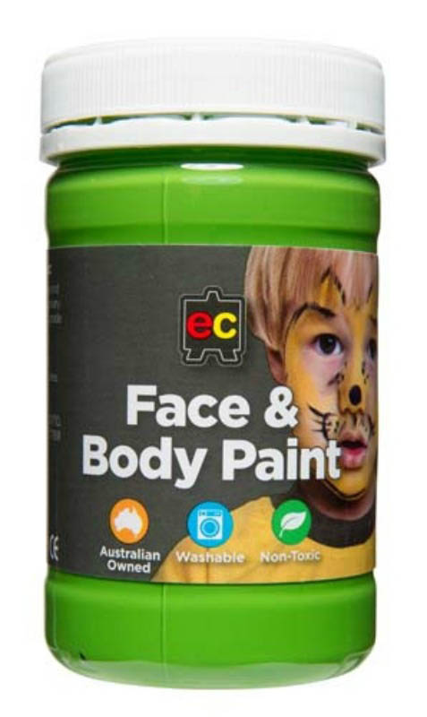 EC - Face and Body Paint - 175ml jar-Green