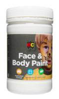 EC - Face and Body Paint - 175ml jar-White