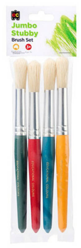 EC - Jumbo Stubby Brush Set - Set of 4