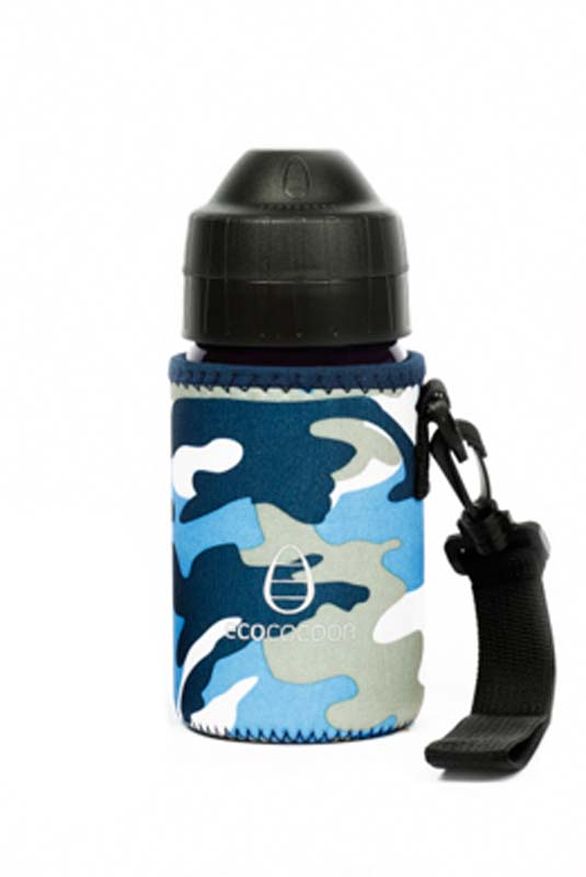 Blue Camo 350ml Cuddler