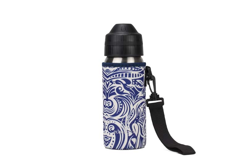 Ecococoon 500ml Bottle Cuddlers Blue Tiki