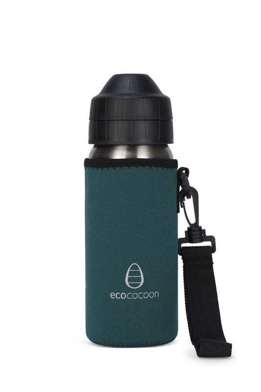 Ecococoon 500ml Bottle Cuddlers Emerald Green