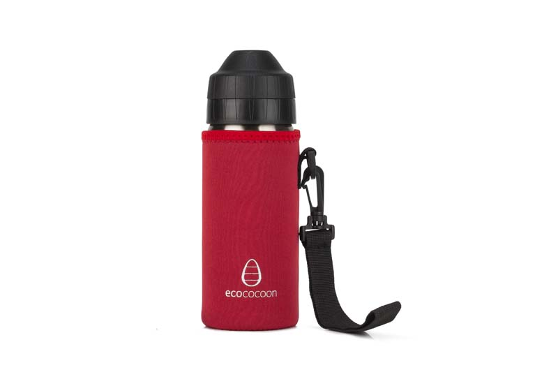 Ecococoon 500ml Bottle Cuddlers Ruby Red