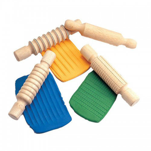 Edx Education-Craft Supplies-Designer Rolling Pins {set of 4}