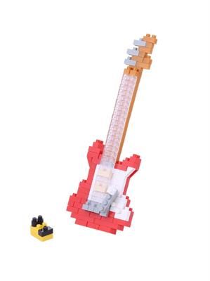 Electric Guitar Red 2 Nanoblock