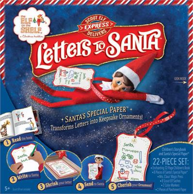Elf on a Shelf -  Shrinking Letters to Santa