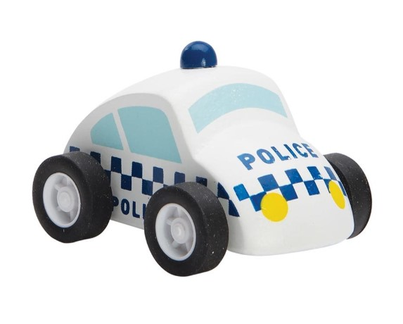 Emergency Rescue - Police Car & Reusable Road
