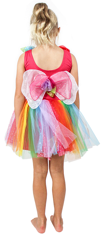 Enchanting Rainbow Fairy Dress