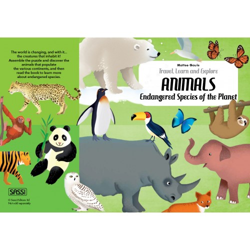 Endangered Species 205pc and Book