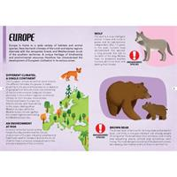 Endangered Species 205pc and Book Europe