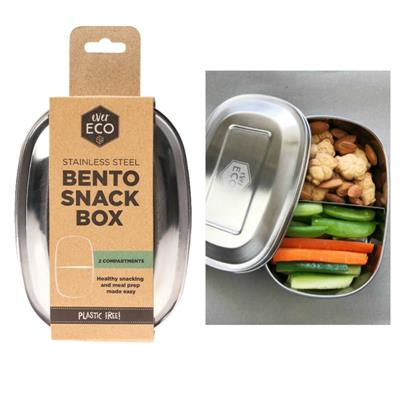 Ever Eco Stainless Steel Bento 2 Snack Box