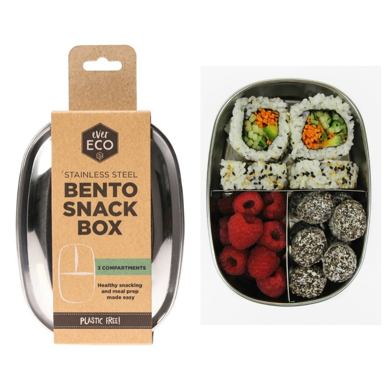 Ever Eco Stainless Steel Bento 3 Snack Box