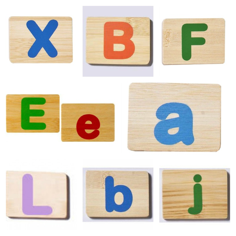 EverEarth Bamboo Letters - colours may vary