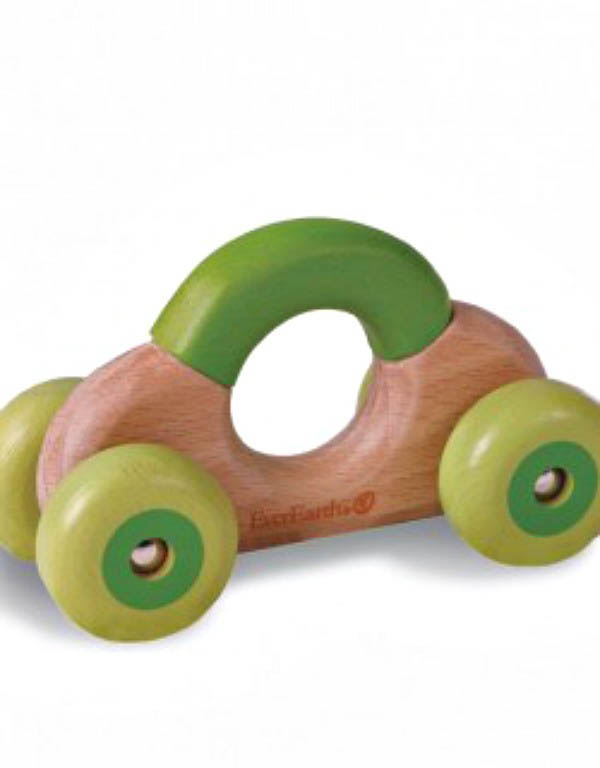 Best Wooden Toys|Toy Car Rattle and Grasping Toy|Lime Tree Kids