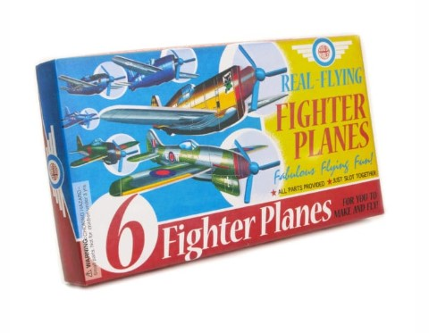 Pack of 6 Fighter Planes