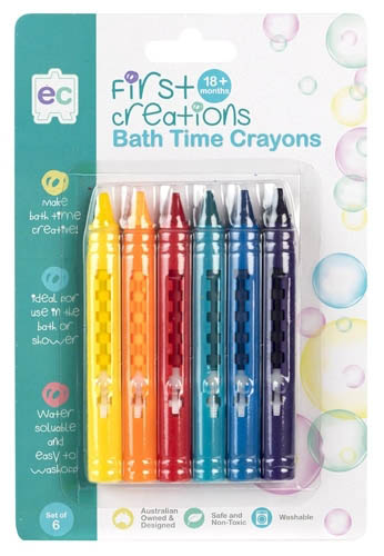 EC First Creations - Bath Crayons