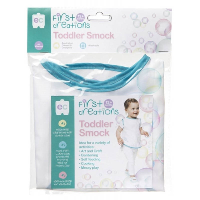 EC - First Creations Toddler Smock - Sleevless