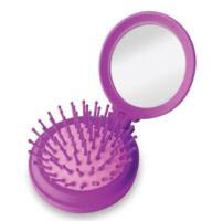 Flip - Compact Hairbrush / Mirror