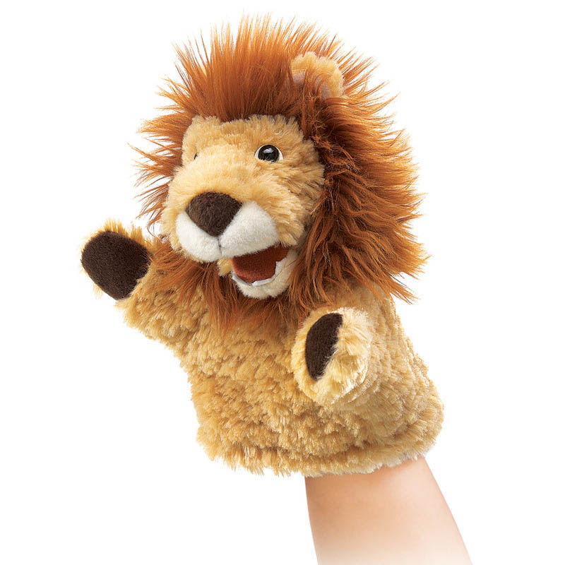Folkmanis-Hand Puppets-Little Lion Puppet