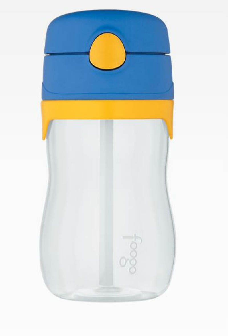 Foogo 325ml Bottle with Straw-BLUE (phase3)