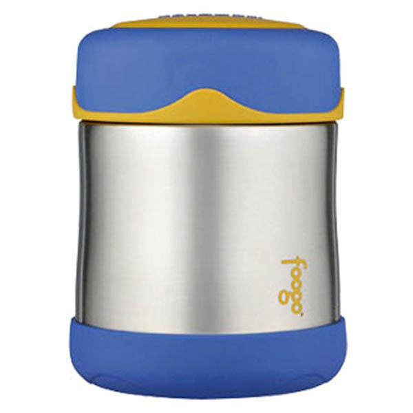 Foogo Thermos Insulated Blue Food Container 290ml