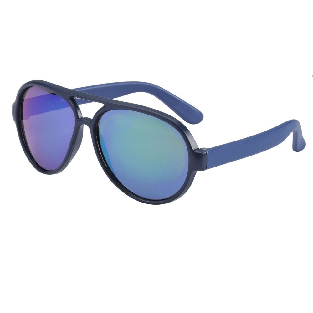 Frankie Ray Sunglasses 0-2 Years Pilot Matte Blue
