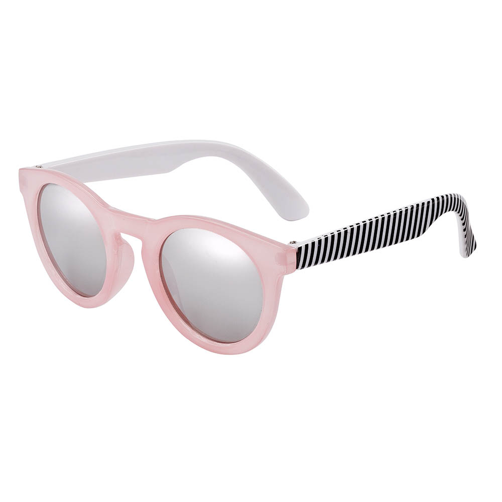 Frankie Ray Sunglasses 1-3 years Candy Pink Stripe