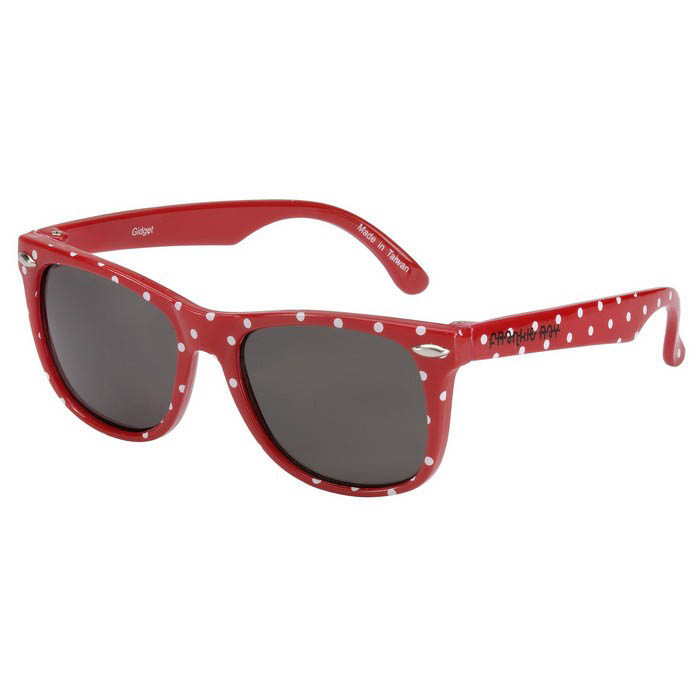 Frankie Ray Sunglasses - 3 years + Gidget (Red + Spot)
