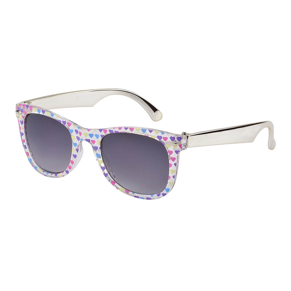Frankie Ray Sunglasses - 3 years + - Multi Heart & Gold