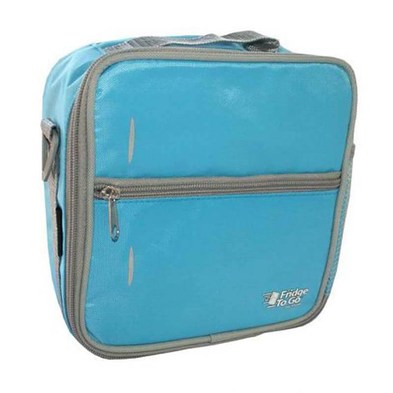 Fridge To Go Lunch Bag Medium  SKY BLUE/Grey Trim