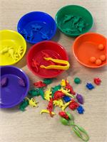 Example of possible use - Sorting ionto coloured bowls