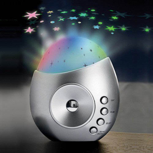 Galaxy Star Projector Amp Sound Machine