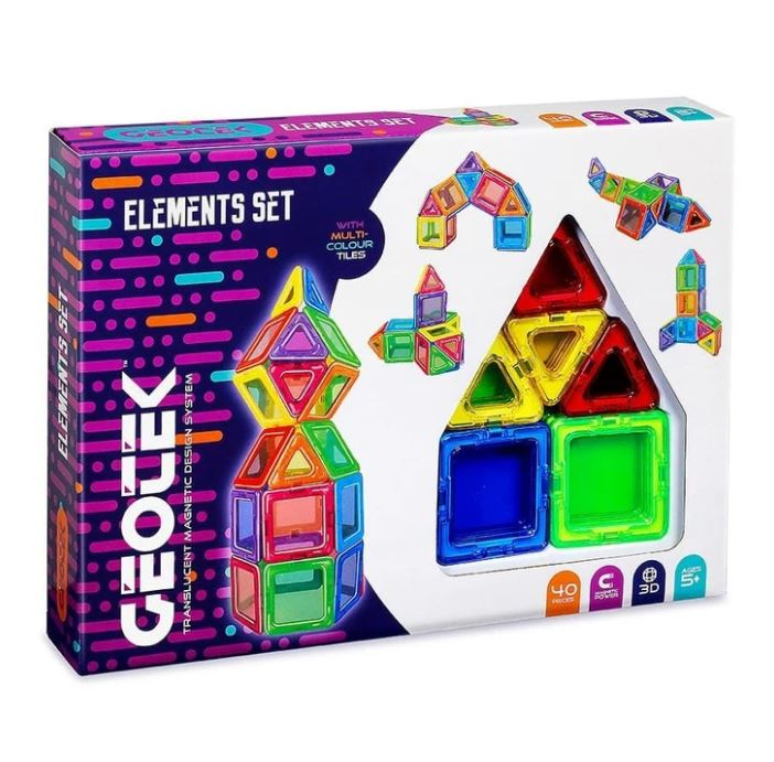 Geotek Elements Set 40 Pieces