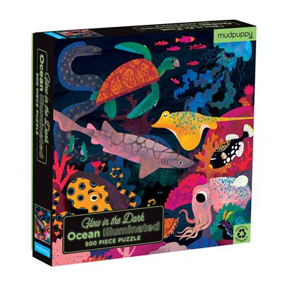 Glow in the Dark Ocean Puzzle 500pc