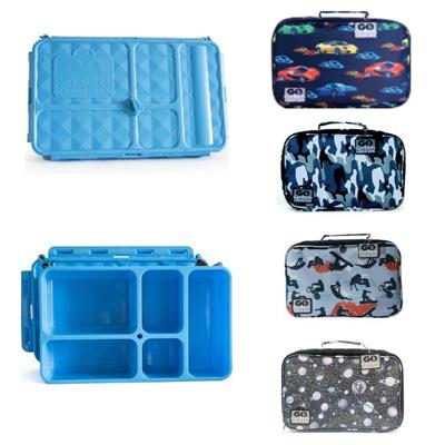 Go Green Lunch Box Set - BLUE Container
