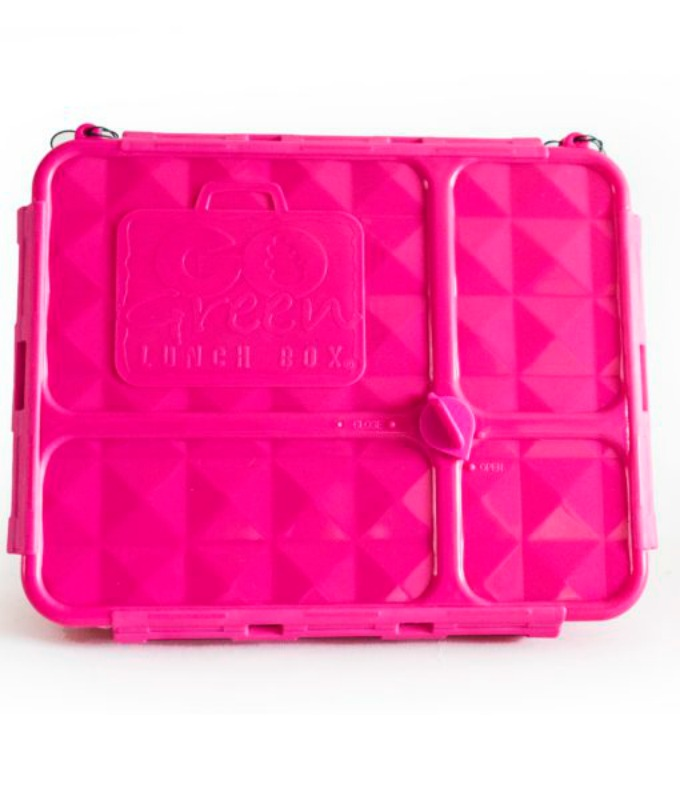 Go Green Medium Lunch Box PINK