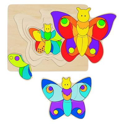 GOKI Layer Butterfly Puzzle