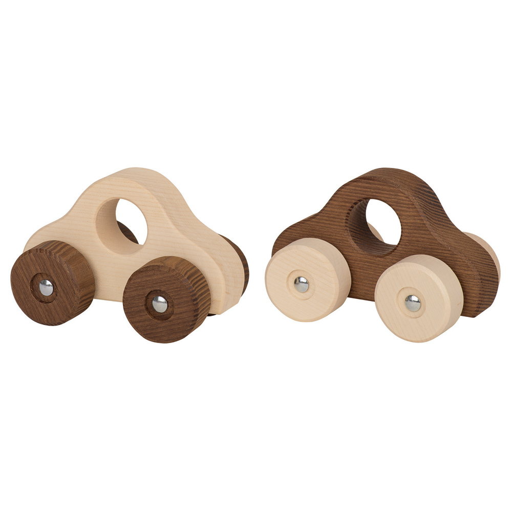 Goki Nature Wooden Cars