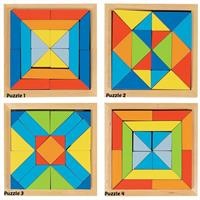 Goki World of Shapes Puzzle - 4 Puzzles to collect, sold individually.