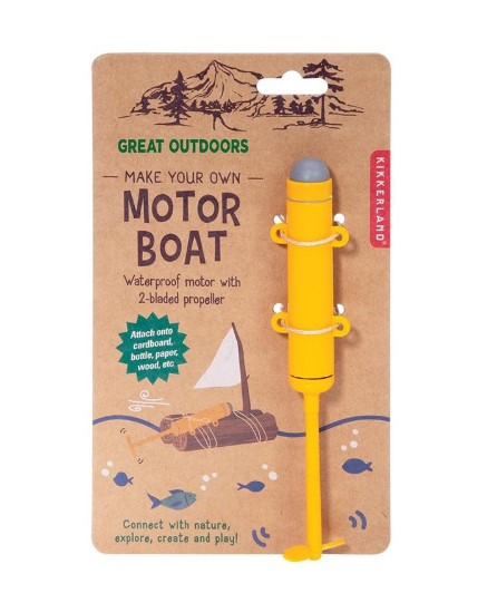 Great Outdoors Motor Boat Kit